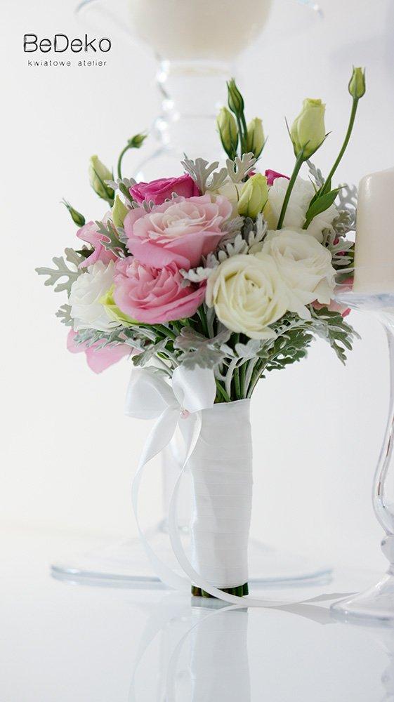 Bukiety różowe